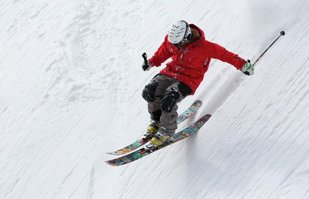 Verkehrsunfall, Skiunfall